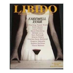 Libido Magazine (Fall, 2000): staff: Books