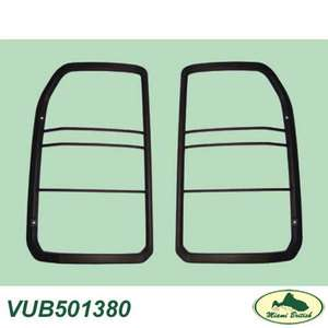 LAND ROVER PLASTIC REAR TAIL LAMP GUARDS LR3 05 09 VUB501380 ALL MAKES