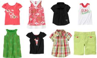 Gymboree NWT Palm Beach Paradise 3 4 5 6 7 3T 4T 5T NEW U PICK