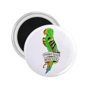 NEW Tattoo Parrot Bird Fridge Souvenir Magnet 2.25 Free