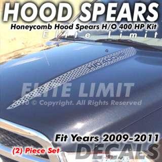 2011 Dodge Ram 1500 Truck Decal Decals Oem Hood Honeycomb Spear