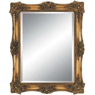 Imagination Mirrors Antique Beauty Wall Mirror in Antique Gold at