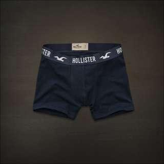 Hollister men Navy blue boxer Brief underwear