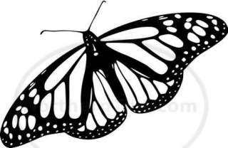 Tribal Butterfly Car Decal Window Sticker Wall Art #187