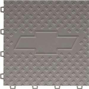 5 Pk. 12x12 Interlocking Garage Floor Chevy Bowtie Logo