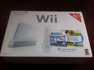 Nintendo Wii Console System Sports Bundle *New