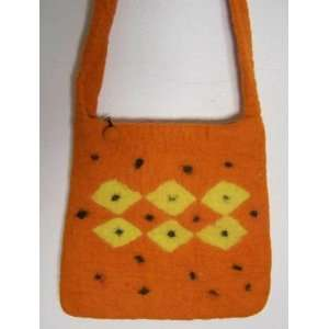 Nepali Boiled FELTED Bag Purse: Everything Else