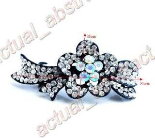 10pcs tiara hair clip&Swarovski rhinestone wholesale