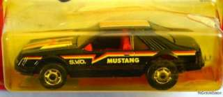 HOT WHEELS THE HOT ONES MUSTANG S.V.O. #9531 NRFP EXLT COND 1982