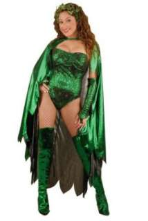 Adult Womens Poison Ivy Costume (Sz:X small 2 4