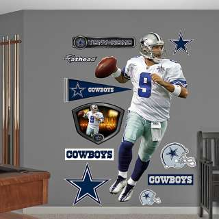 Dallas Cowboys Posters Fathead Dallas Cowboys Tony Romo Wall Graphic