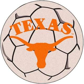 Longhorns Home Decor Fanmats Texas Longhorns Soccer Ball Shaped Mats