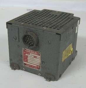 Westinghouse Aircraft AC Generator Voltage Regulator