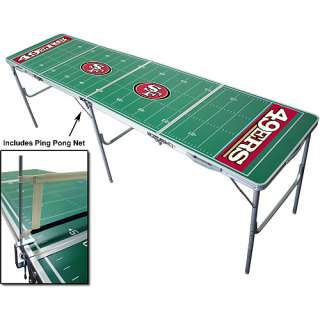 Wild Sports San Francisco 49ers Tailgate Table with Net