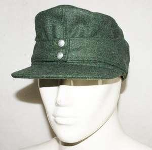WWII GERMAN WH EM M43 PANZER WOOL FIELD CAP L  31733