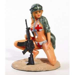 Military Pin Up Girl   Devil Doctor
