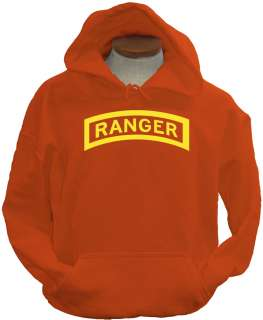 Ranger ylw US Army Military Forces New Airborne Hoodie