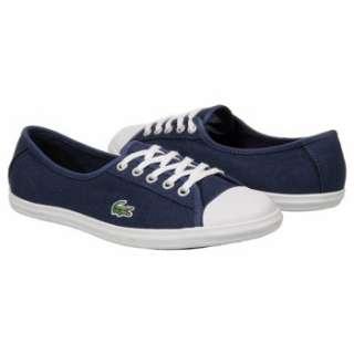 Womens Lacoste Ziane CA Dark Blue/White Shoes