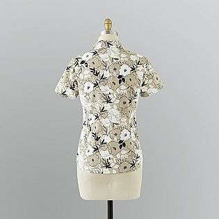 Womens Casual Button Down Shirt  Gloria Vanderbilt Clothing Womens