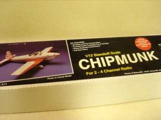 HOUSE OF BALSA CHIPMUNK R/C MODEL AIRPLANE KIT **