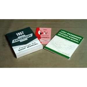 Chevy Manual Literature Set, 1957 Automotive