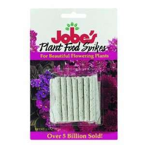 05201T Jobes Flowering Plant Food Spikes Patio, Lawn & Garden
