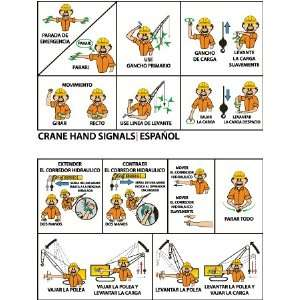 WALLET CARDS CRANE HAND SIGNALS SPANISH: Home Improvement