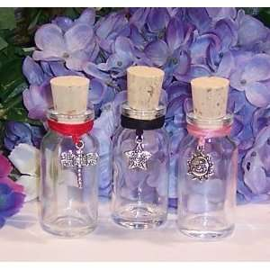 Pink/red/black Charmed Potion Bottles. Health & Personal