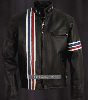 Easy Rider© Peter Fonda Lederjacke Motorrad Biker Captain America