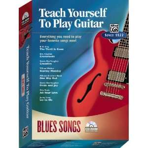 Yourself To Play Guitar Blues Songs (CD ROM) Musical Instruments
