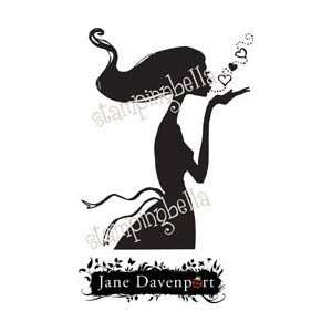 Stamping Bella Unmounted Rubber Stamp Blow A Kiss Jane; 2