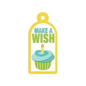 Memory Keepers   Embossed Tags   Make A Wish Arts, Crafts & Sewing