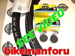 Bicycle 700x32 SERFAS DRIFTER Bike 2 Tire Tube Rimstrip