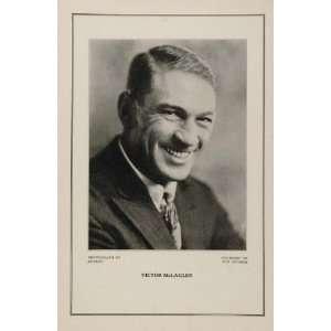 1927 Silent Film Star Victor McLaglen Fox Studio Print   Original
