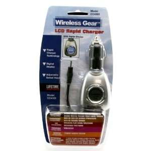 Wireless Gear LCD Rapid Charger Electronics