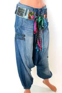 patchwork hit desigual jeans mantel gr 42 abrig collage de. Black Bedroom Furniture Sets. Home Design Ideas