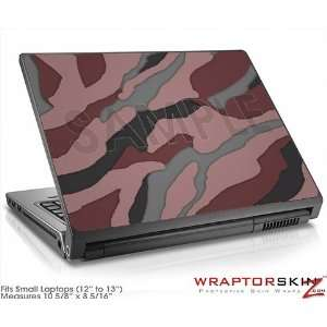 Small Laptop Skin Camouflage Pink: Electronics
