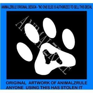 TIBETAN TERRIER DOG VINYL DECAL