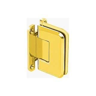 Gold Plated Wall Mount Full Back Plate Standard Hinge with 5º Offset