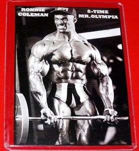 Ronnie Coleman 8 Time Mr Universe Body Builder Magnet