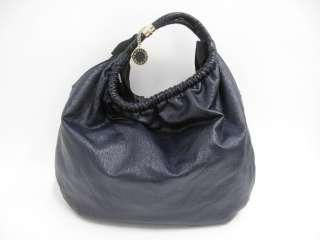 Stella McCartney Navy Blue Vegan Coated Patent Large Tote Bag