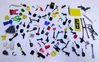 Minifigs Weapons Tools Accessory LOT town city star wars space guns