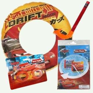 Disney Swim Package Cars/Princess Includes Swim Ring, Goggles