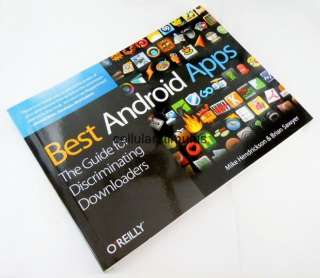 New Best Android Apps Guide Book by OReilly for Android OS Market
