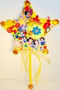 OOAK Large Star Disney Princess Wands Party Favors