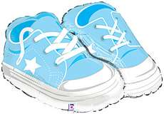 ITS A BOY BABY BOOTIES 30 Balloons BABY SHOWER GIFTS
