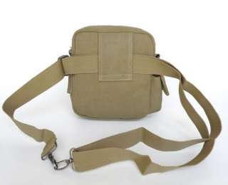 Brand New High Quality Washable Canvas Mens Waist Bag Fanny Pack