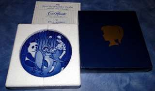 1990 BING & GRONDAHL CHILDRENS DAY BARNETS DAG PLATE