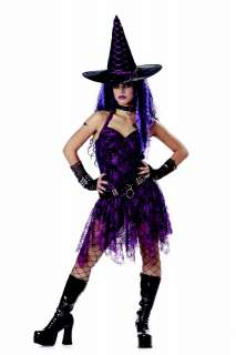 Gothic Rocking Witch Adult Halloween Costume