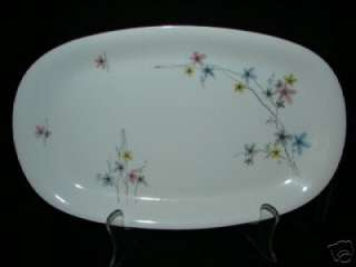 ANTIQUE BAVARIA GERMANY HERTEL JACOB CHINA PLATTER ~ NICE DESIGN